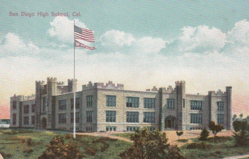 SAN DIEGO , California , 00-10s ; High School