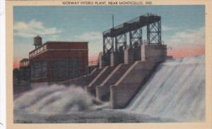 Indiana Norway Hydro Plant Near Monticello