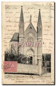 Le Havre Old Postcard Our Lady of the Waves