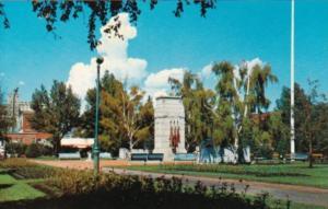 Canada Cenotaph Honoring Canada's War Dead Central Park Calgary Alberta