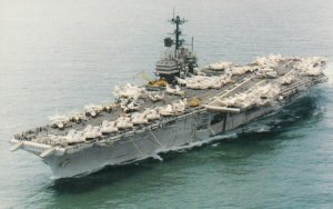 Warships ; U.S. Navy Aircraft Carrier USS INDEPENDENCE (CV-62) , 50-60s