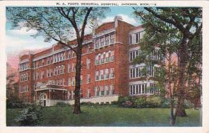 Michigan Jackson W A Foote Memorial Hospital