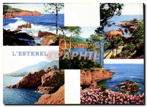 Modern Postcard The French Riviera miracle of nature the Esterel Rocks