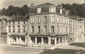 france, SAINT-MIHIEL, Meuse, Hotel-Restaurant Rollot (1950s) RPPC Postcard