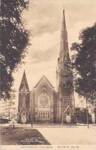 Ohio Elyria Methodist Church Albertype