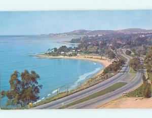 Pre-1980 ROAD OR STREET SCENE Santa Barbara California CA hJ6350