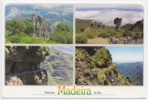 Interiores Madeira da Ilha, 2010 used Postcard
