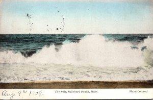 Massachusetts Salisbury Beach The Surf 1910