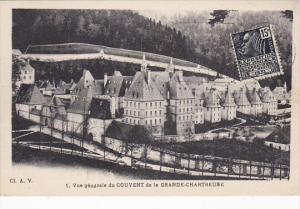 France Vue generale du Couvent de la Grande-Chartreuse