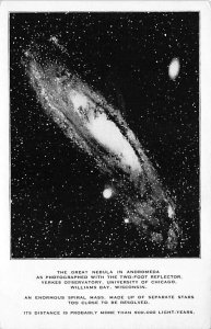 The great nebula in Andromeda Space Unused