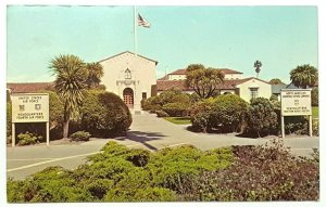 Novato California, Hamilton Air Force Base c1960s Old Vintage Postcard A36
