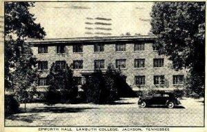 Epworth Hall, Lambuth College - Jackson, Tennessee