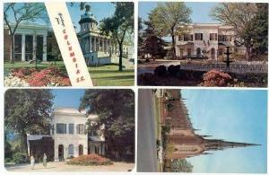 4 PC´s, Landmarks Of Columbia, South Carolina, 1940-60s