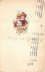 B2191 Illustration Enfants Signe Castelli 1923 front/back scan