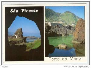 MADEIRA, 1970s 2-view, Sao Vicente &Porto do Moniz