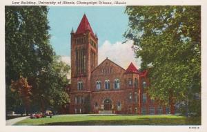 Illinois Champaign-Urbana Law Building University Of Illinois Curteich