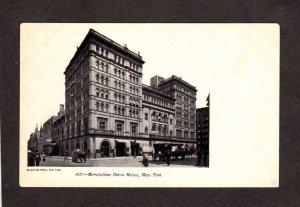 NY Metropolitan Opera Music House New York City Postcard UDB PC NYC