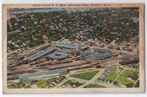 Illinois Central RR Shops & Round House, Waterloo IA