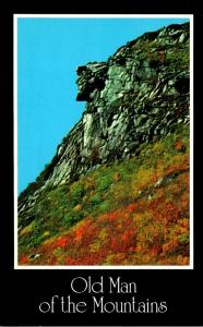 New Hampshire White Mountains Franconia Notch Old Man Of The Mountains