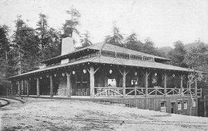 MUIR INN Muir Woods, Mount Tamalpais, CA Marin County 1909 Vintage Postcard