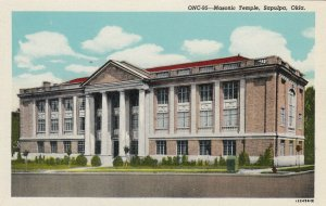 SAPULPA , Oklahoma, 1930-40s; Masonic Temple