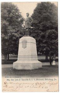 Gettysburg, Pa., Maj. Gen. John F. Reynolds U.S.V. Monument