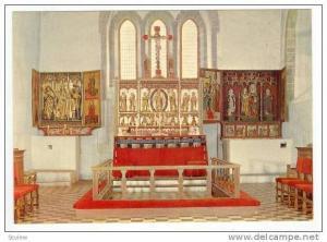 Norway, 50-60s   Sakristiet, Trondenes kirke fra ca ar 1250
