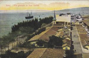 Suez, Vue generale du Port Tewfik,Egypt,00-10s
