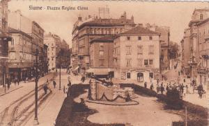 FIUME (Now Rijeka), Croatia, 00-10s; Piazza Regina Elena, Street View