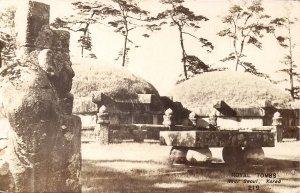RPPC KOREA, Seoul, Royal Tombs, Religious, Cemetery, 1950's-60's Real Photo