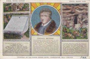 West Virginia Charleston Conrtesy Of The Daniel Boone Hotel Artvue