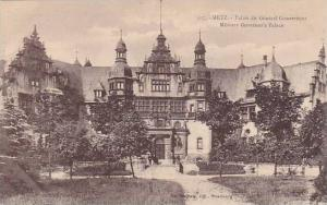 Palais Du General Gouverneur, Military Governor's Palace, Metz (Moselle), Fra...