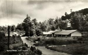 new guinea, MANOKWARI, Roman Catholic School (1961) RPPC
