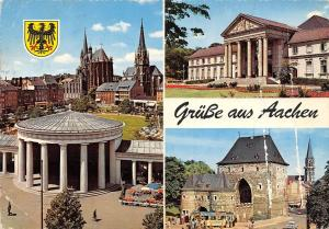 Germany Grusse aus Aachen multiviews Cathedral Dom Theater