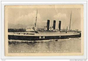 GTP SS Prince George,Prince Rupert , BC , Canada, 00-10s