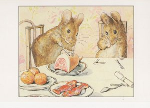 The Tale Of Two Bad Mice Beatrix Potter 1904 Book Postcard
