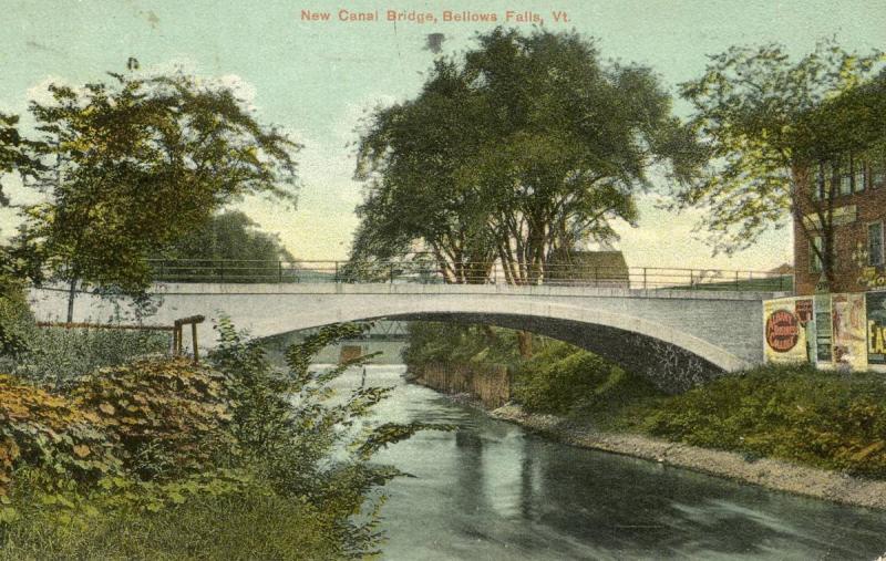 VT - Bellows Falls. New Canal Bridge