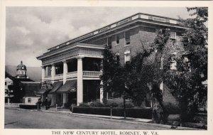 West Virginia Romney The New Century Hotel sk1797