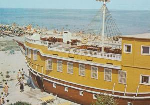 Starata Gemija Bulgarian Floating Restaurant Cruise Ship Postcard
