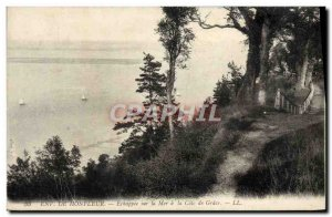 Postcard Old Honfleur Echappee On the Sea Cote de Grace