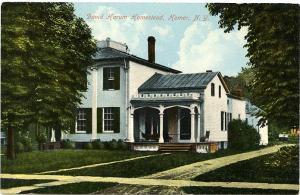 The David Harum Homestead - Homer NY, New York - DB