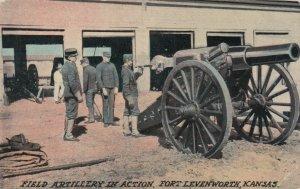 FORT LEVENWORTH , Kansas , 1911 ; Field Artillery