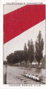 Church Vintage Cigarette Card Well Known Ties No 49 Leander Rowing Club