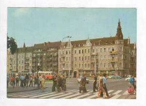 Busy Street Scene,Pszczyna,Poland 1960-70s