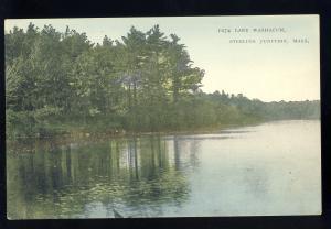 Sterling Junction, Massachusetts/MA/Mass Postcard, Lake Washacum