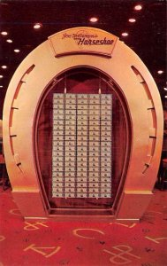 Joe Brown's Horseshoe Club Casino One Million Dollars Las Vegas Nevada Postcard