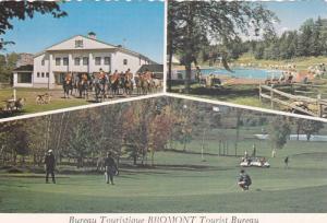 Swimming Pool, Horseback Riding, Golf, Bromont Tourist Bureau, Quebec, Canada...