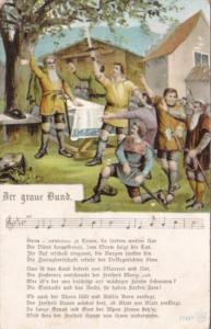 Men Singing Der Graue Bund 1908