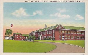 Elizabeth City State Teachers College College Elizabeth City North Carolina