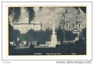 Rosario, Santa Fe, Argentina Pre 1907, Plaza 25 de Mayo